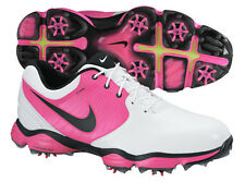 Nike Lunar Control II Golf Shoes White/Vivid Pink NEW 5151