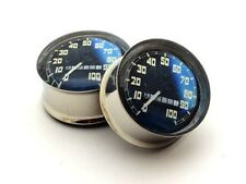 Speedometer Plugs / Gauges / Tunnels Double-sided Flare  (2 Pieces)