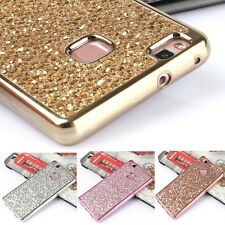 Luxury Glitter Bling Diamond TPU Soft Gel Phone Case Cover For iPhone & Samsung
