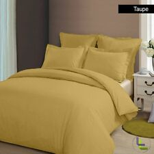 THREAD TREASUREs GOLD SOLID BEDDING COLLECTION 1000TC 100% COTTON - K