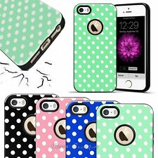 Classical Cute Polka-dot Pattern TPU Protective Hard Case Cover For iPhone 6 6S