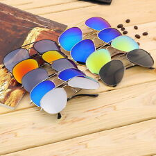 Unisex Women Men Vintage Retro Fashion Mirror Lens Sunglasses Glasses XP