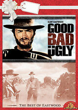 The Good the Bad and the Ugly (DVD Movie) Clint Eastwood FAST SHIPPING