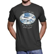 Piper PA-28 Archer Piper Pilots Men`s Dark T-Shirt