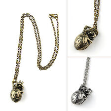 Surgeon Anatomical Human Love Heart Necklace Alloy Pendant Gift Retro