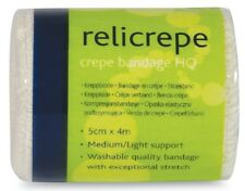 Pack of 10 Crepe Bandages Relicrepe, First Aid, Dressings, Support, Bandage