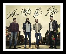 KINGS OF LEON AUTOGRAPHED SIGNED & FRAMED PP POSTER PHOTO 1