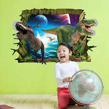 3D Wall Sticker Removable DIY Decal Mural Art Kids Living Room Home Wall Decor