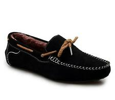 Mens Slip On Loafer Fur Lined Winter Warm Moccasin suede Driving Shoes color