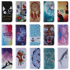 Eiffel Tower Butterfly Flowers Flip Leather Hybrid Cover Case For Samsung Galaxy