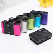 Digital Mini Metal USB MP3 Music Media Player Support Micro 8GB SD TF Card