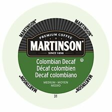 Martinson Coffee Colombian Decaf, RealCup portion pack for Keurig K-Cup Brewers