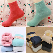 New Simple Cashmere Wool Thick Warmer Womens Mens Unisex Socks Warm Soft 1Pair