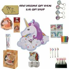 NEW UNICORN GIFT IDEAS - UNICORNS - CLOCK - COMPACT - TWEEZERS - MANICURE SET -