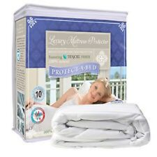 Protect-A-Bed Luxury Waterproof Mattress Protector Bed Cover Choose Size NEW