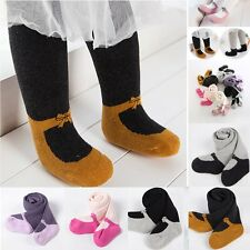 Baby Toddler Infant Kids Girls Cotton Warm Pantyhose Socks Stockings Tights 0-6Y