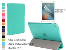 """For iPad Air 2/Pro 9.7"""" Screen Protector Ultra Slim Smart Cover Case"""