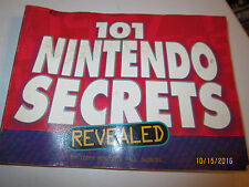 NINTENDO   BOOKLET  WITH 101 GAME SECRETS