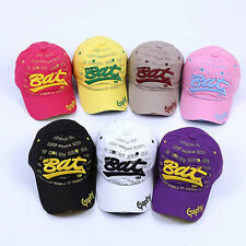 Men's Bat Baseball Cap Embroidery Flat Brim Snapback Hat Hip-Hop Fashion #B9