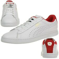 Puma Court Star CRFTD Trainers Shoes Leather Doctor shoes 359977 04 white red