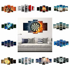 New 5PCS Modern Art Wall Picture Print Paintings Canvas Unframed Home Decoration