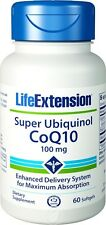Super Ubiquinol CoQ10 100mg by Life Extension - 60 Softgels