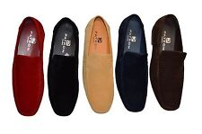 New Mens Slip-Ons Italian Loafers Mocasins Casual Smart Designer Shoes UK 6-12