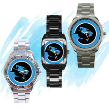 NEW Wrist Watch Stainless Panthers carolina