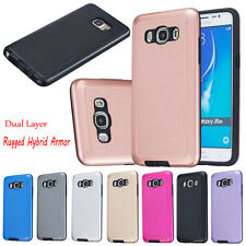 Dual Layer Rugged Hybrid Armor Bumper Case Protective Cover For Various Phones