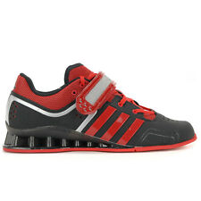 Adidas Men's adiPower Weightlift Black/Scarlet Olympic Lifter Shoes M21865 NEW!