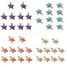 Wholesale 10Pcs Star shell Charms Pendants for Necklace Bracelet DIY Jewelry