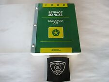 1998 DODGE DURANGO SERVICE SHOP REPAIR MANUAL FACTORY OEM