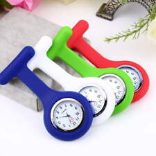 New Portable Silicone Gel Doctor Nurses Brooch Pin Pocket Fob Tunic Watch lot D