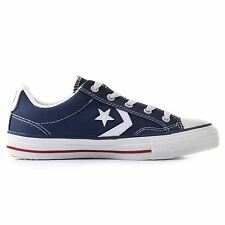 Converse Star Player Ox Navy White Womens Trainers