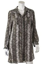 Diane von Furstenberg Polly snake print silk tunic dress Size XS | US 4