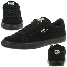 Puma Court Star Vulc Suede Men's Sneakers Shoes black leather 363222 01