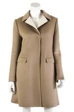 Prada single breasted tailored wool blend coat Size L | IT 46