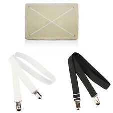 2X Triangle Bed Mattress Sheet Clips Grippers Straps Suspender Fasteners Holder