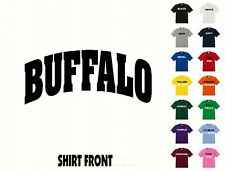 City Of Buffalo College Letters T-Shirt #392 - Free Shipping