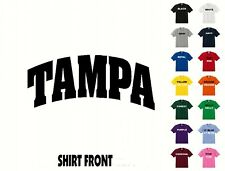 City Of Tampa College Letters T-Shirt #395 - Free Shipping
