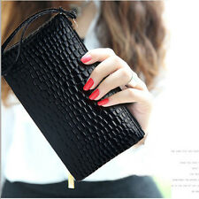 Fashion Women Lady Leather Clutch Money Wallet Long PU Card Holder Purse Handbag