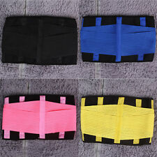 New Adjustable Unisex Waist Tummy Tuck Trimmer Slimming Sports Wrap Belt VE