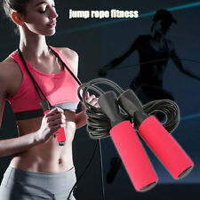 Skipping Jump Rope For Testing Aerobic Exerciseing Fitness Adjustable Bearing VE
