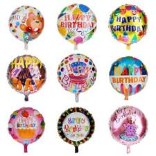 Colorful Foil Mylar Balloons Happy Birthday Helium Balloon Party Supplies