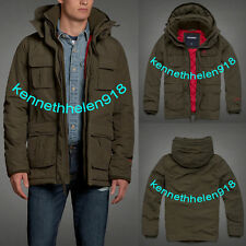 NWT ABERCROMBIE & FITCH MENS ALL-SEASON WEATHER WARRIOR PARKA JACKET SIZE M,L