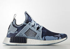 Adidas NMD XR 1 W BA7754 Duck Camo Grey Noble Ink Womens Sneakers Boost Shoes
