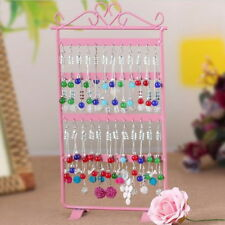 48 Hole Earrings Ear Studs Jewelry Display Rack Metal Stand Holder Showcase DP
