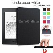 Smart Magnetic Ultra Slim Leather Case Cover For Kindle Paperwhite Generation 3