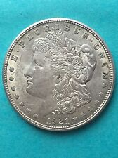 1921D  Morgan Silver Dollar
