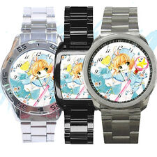 NEW Wrist Watch Stainless Anime Cosplay CLAMP Cardcaptor Sakura